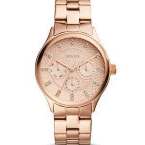 Fossil Modern Sophisticate Rose Gold Watch